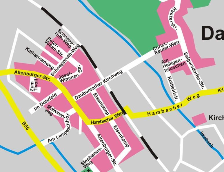 Stadtplan Jülich - Webdesign by ndsh.de